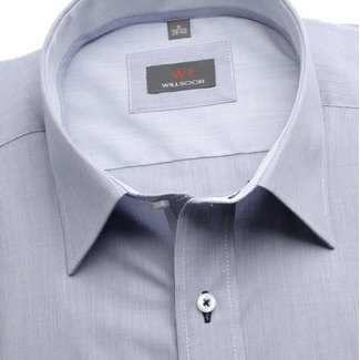 Men shirt Slim Fit (height 188-194) 5811 in gray color