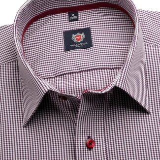 Men shirt London (height 164-170) 5872 with checked