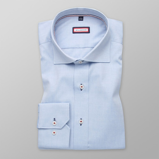 Men shirt Slim Fit (height 176-182) 5890 in blue color with formula Easy Care