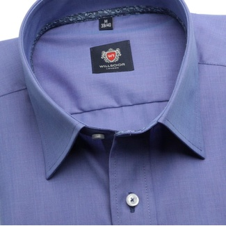 Men shirt London (height 176-182) 5909 in blue color with formula 2W Plus