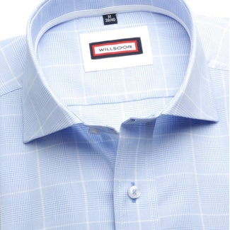 Men shirt Classic (height 188-194) 5922 in blue color