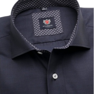 Men shirt London (height 176-182) 5925 in blue color a formula 2W Plus