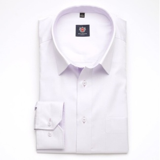 Men classic shirt London (height 188-194) 5951 in violet color with formula Easy Care