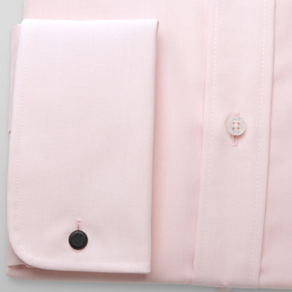 Men slim fit shirt London (height 164-170) 5969 in pink color with formula 2W Plus