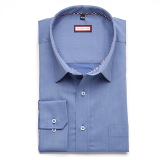 Men classic shirt Classic (height 176-182 I 188-194) 5978 in blue color