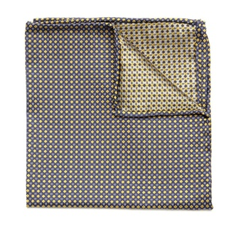 Men handkerchief to pocket Willsoor (height 97) 5983 in yellow color