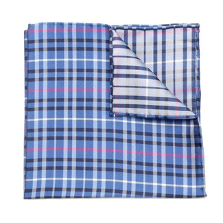 Men handkerchief to pocket Willsoor (pattern 103) 5989 in blue color