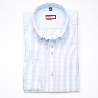 Men classic shirt London (height 176-182) 6033 white color
