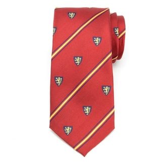 Men silk tie (pattern 328) 6038 in red color, Willsoor