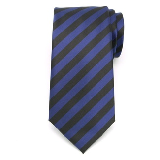 Men tie of microfiber (pattern 1158) 6052 with strips
