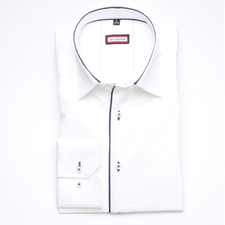 Men shirt Slim Fit (height 176-182) 6084 in white color with formula Easy Care