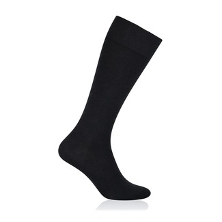 Men classic knee socks Willsoor 6116 in black color