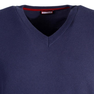 Men sweater Willsoor 6340 in dark blue color