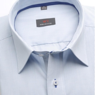 Men classic shirt (height 188-194) 6624 in white color with formula Easy Care