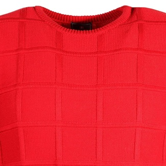 Men sweater Willsoor 6867 in red color