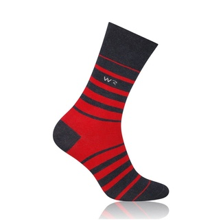 Men socks Willsoor 6965 in black color