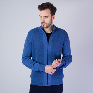 Men sweater Willsoor 7288 in light blue color