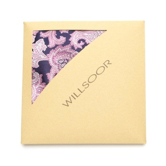 Men handkerchief to pocket Willsoor (pattern 114) 7290 of silk, Willsoor