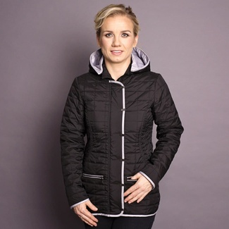 Women jacket Willsoor 7432 in black color, Willsoor