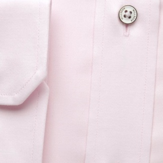 Men slim fit shirt (all height) 7792 in pink color with adjusting easy care