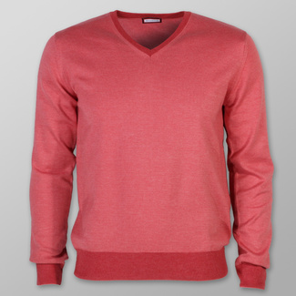 Men sweater Willsoor 7878 in coral color