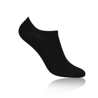 Men low socks Willsoor 7910 in black color
