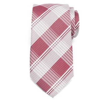 Men classic tie of microfiber (pattern 1282) 7987 with checked