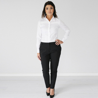 Women shirt Willsoor 809 in white color