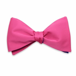 Men classic tied butterfly Willsoor 8155 in pink color, Willsoor