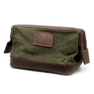 Men's Leather Cosmetic Bag 8210