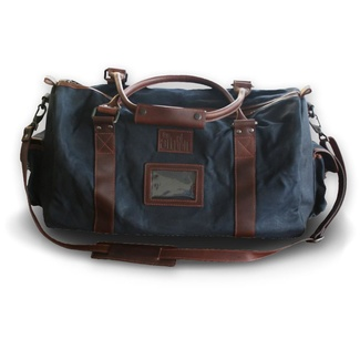 Leather shoulder holdall 8212