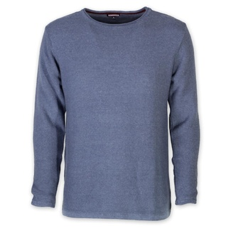 Men's thin pullover Willsoor 8233 in blue color, Willsoor