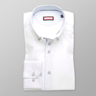 Men's Classic Shirt (height 176-182) 8240 in white color
