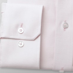 Men classic shirt London (height 176-182) 8363 in pink color with adjusting 2W Plus