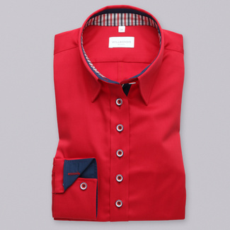 Women's red shirt Willsoor 8411