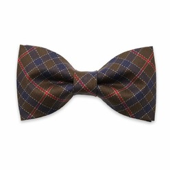 Men's checkered pre-tied bow Willsoor 8428, Willsoor