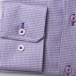 Men slim fit shirt London (height 176-182) 8573 with fine pattern a adjusting easy care, Willsoor