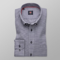 Men's slim fit shirt London (height 176-182) 8589 Easy care