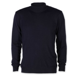 Men's dark blue turtleneck sweater Willsoor 8624, Willsoor