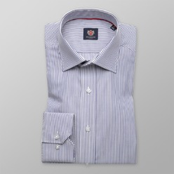 Men's Slim Fit shirt London (height 176-182) 8715 in White Color and 2W Plus Treatment