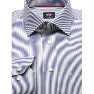 Men's Classic Cut Shirt LONDON(height 176-182) 8716 in White color with 2W Plus treatment
