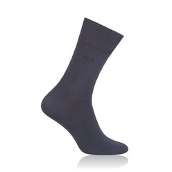 Men's Bamboo Socks Willsoor 8734 in graphite color