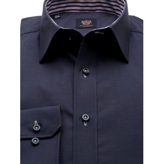 Men slim fit shirt London (height 176-182 a 188-194) 8844