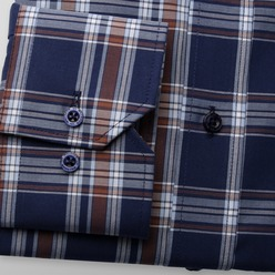 Men's shirt London (height 188-194) 8993, Willsoor