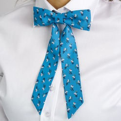 Womens blue bowtie Willsoor 9310, Willsoor