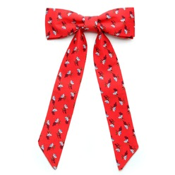 Womens red bowtie Willsoor 9311, Willsoor