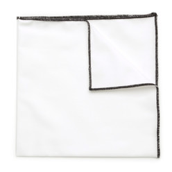 White pocket square 9548 | Willsoor, Willsoor