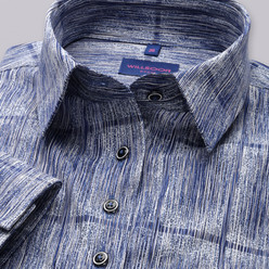 Women's shirt with fine pattern 9594, Willsoor