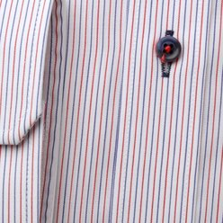 Men's striped slim fit shirt (height 176-182) 9599, Willsoor