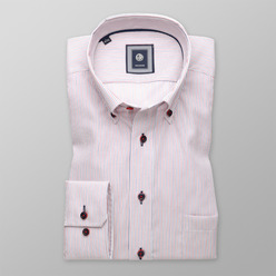 Men's striped classic shirt (height 176-182) 9600, Willsoor